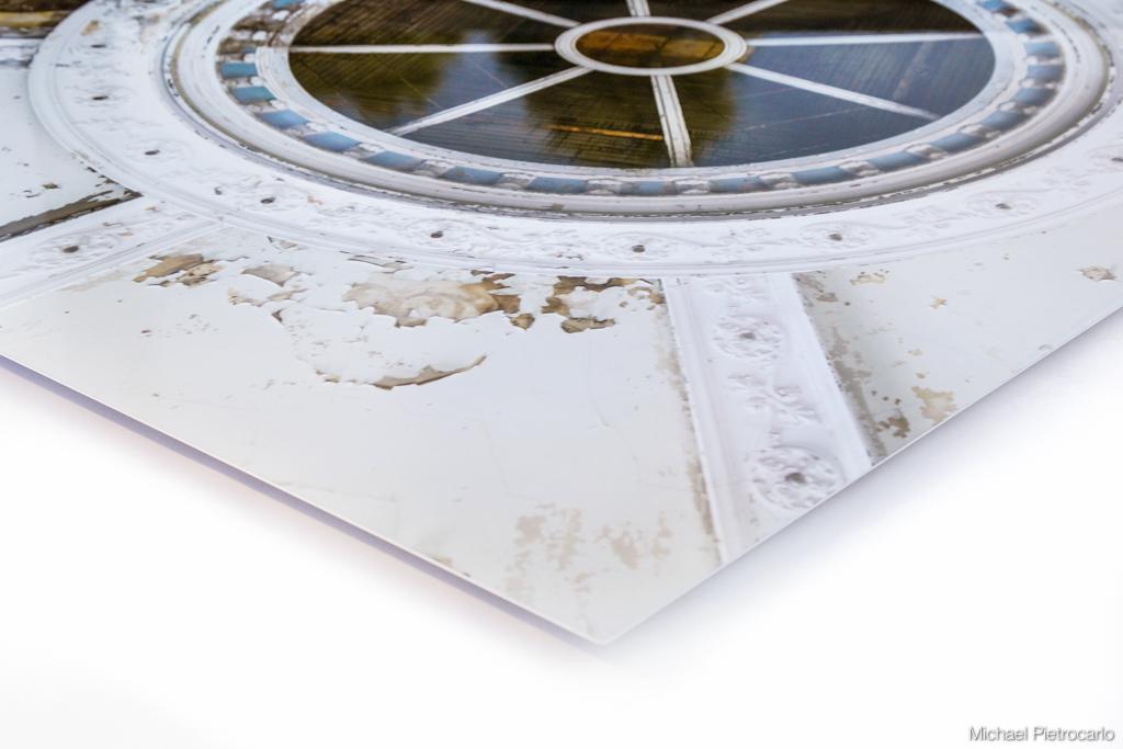 Gloss Aluminum  photo mount - edge