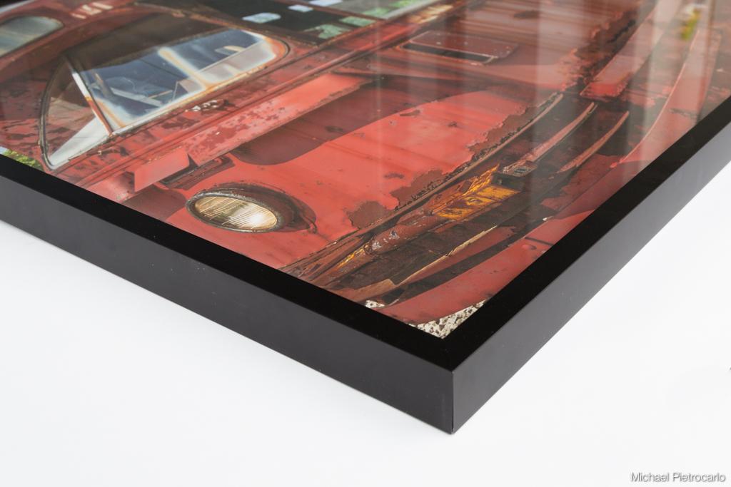 Custom Framed fine art print - edge